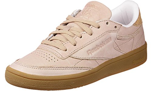 W Fbt Marron Chaussures C 85 Rose Reebok Club IT6qCwPPn1