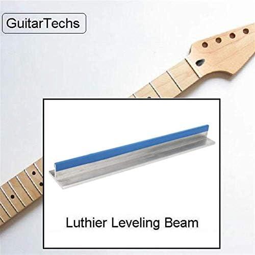 LHQ-HQ Abrasive Tool, 25cm Long Span Fretboard Fret Leveling Sanding Beam GuitarTechs Long Span for Luthier