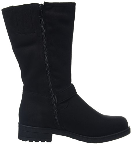 New Look Wide Foot Boss Buckle - Botas Mujer Black (black/01)