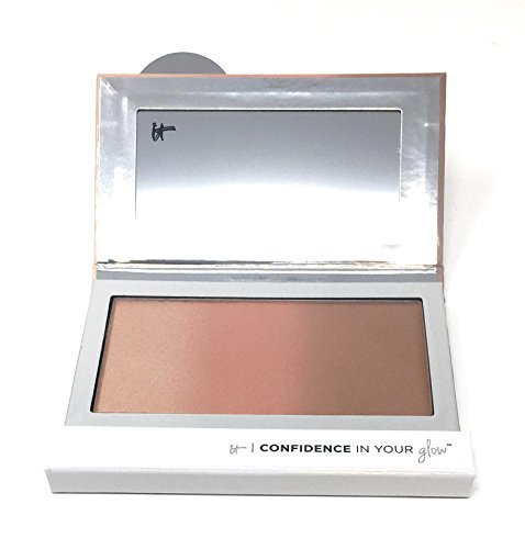 It Cosmetics Confidence in Your Glow Flush Brushing Bronzer – Instant Nude Glow