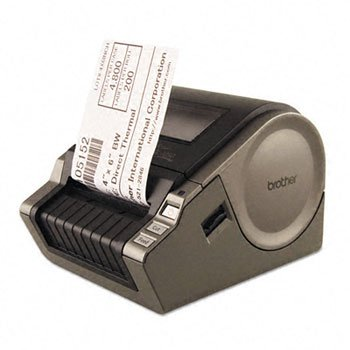 """Price comparison product image Brother QL-1050 4"""" Wide Format PC Label Printer LABELMAKER,WIDE FORMAT (Pack of2)"""