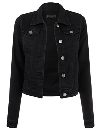 Button Black Jacket - 8