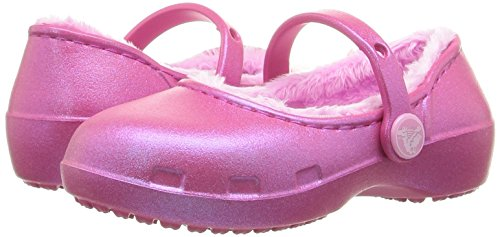 Pictures of Crocs Karin Lined Clog Mary Jane (Toddler/ Pink 4