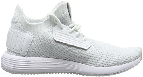 Puma Unisex Adults' Uprise Knit Low-Top Sneakers White (Puma White-gray Violet-nimbus Cloud 02) cheap 100% original lowest price cheap price Inexpensive for sale clearance comfortable xlq4zht