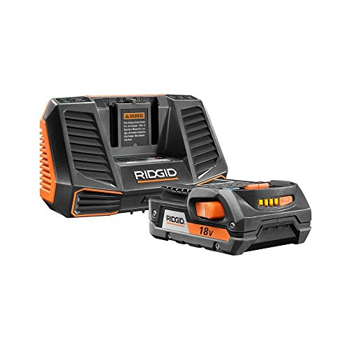 Ridgid 18-volt Lithium-ion Battery Cordless Hyper Starter Kit by Ridgid