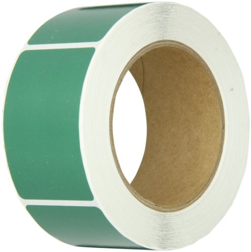 Tape Logic DL630D Inventory Rectangle Label, 3'' Length x 2'' Width, Green (Roll of 500) by Tape Logic