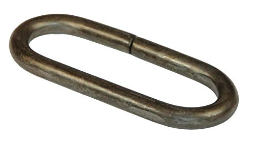 Rigid Hitch (RLP-35) - Weld-on Safety Chain Loop - Raw Finish - Made In U.S.A.