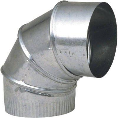 UNITED STATES HDW GV0298-C 7'' Adjustable 24GA Furnace Elbow