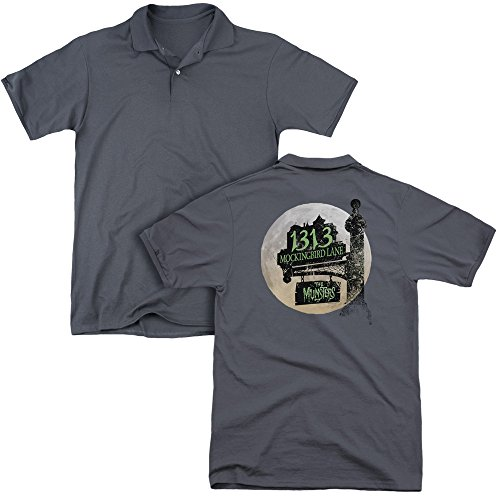 The Munsters - Moonlit Address Adult Polo Shirt