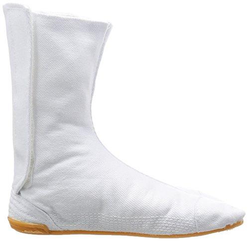 Kinder Festival Matsuri Jikatabi Schuhe mit Naht (Nuitsuke) - Direkt aus Japan (Marugo) Weiß