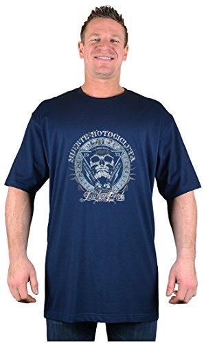 Big Tee Shirt Herren T-Shirt, Logo Blau Navy