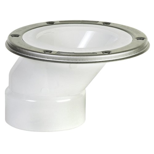 Sioux Chief Offset Closet Flange Full-Flush Stainless Steel 4 '' by Sioux Chief (Image #1)