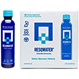 RESQWATER Proactive Recovery Drink 8 Ounce (12 Pack), Hangover and Workout Recovery Drink, Liver Support and Electrolytes for those Hungover or w/Muscle Soreness after Alcohol or Post-Workout