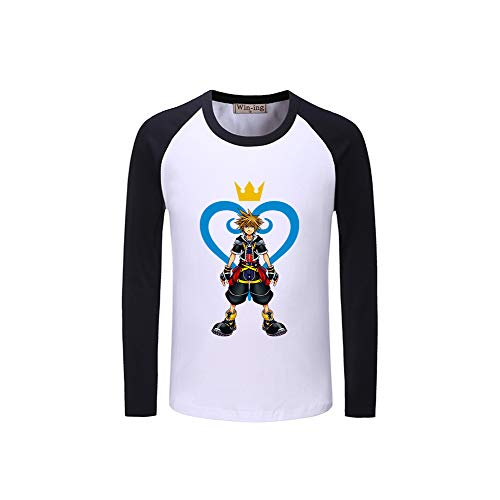 Kingdom Black14 Rfdeerdf Splice Hearts shirt Confortable Sweat AOnTU0wdq