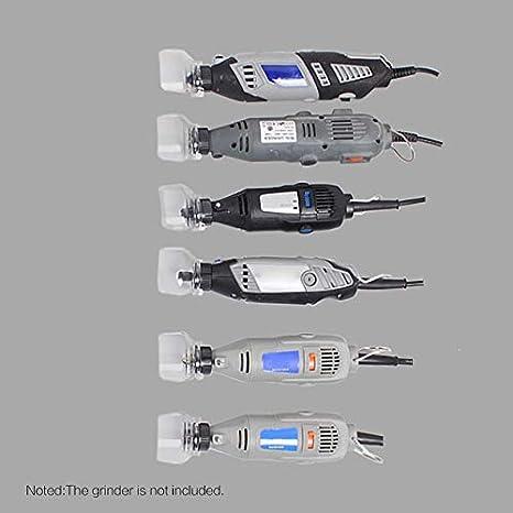 JICHUIO Tapa protectora de molienda el/éctrica A550 Mini accesorios de taladro para cubierta de molinillo Cubierta protectora de seguridad