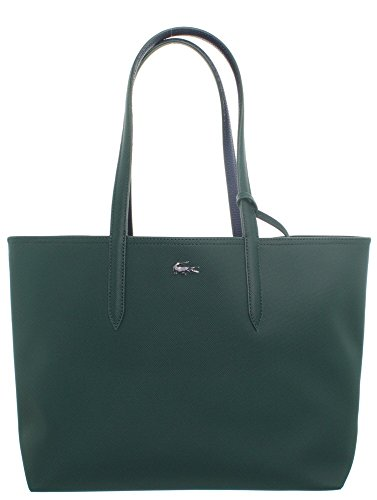 Lacoste Nf2142aa, Borse Tote Donna Verde (Green Gables Peacoat)