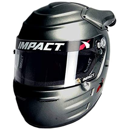 df44bf01 Amazon.com: Impact Racing 16315610 Helmet - Vapor SC20 SNELL15 XL ...
