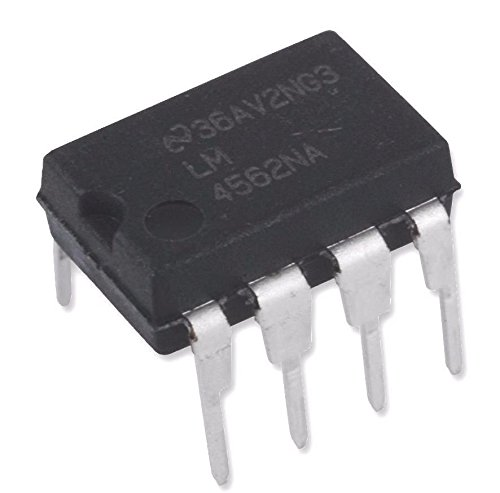 National Semiconductor Lm4562na Audio Amplifier  Pack Of 1