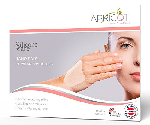 (NEW! Silicone care Hand Pads! Silicone Pads with high effective hyaluronic acid! For smooth and well groomed hands overnight! reusable!)