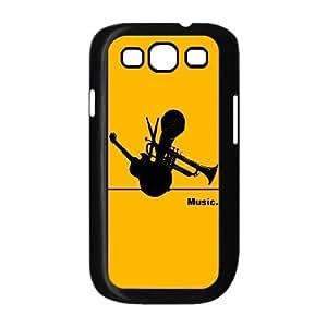 ALICASE Diy Back Case Music For Samsung Galaxy S3 i9300 [Pattern-1]