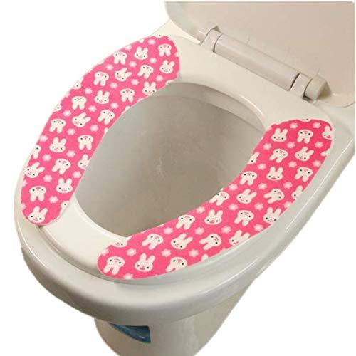 Cartoon Bathroom Soft Toilet Seat Closestool Warmer Mat Cover Pad Cushion G
