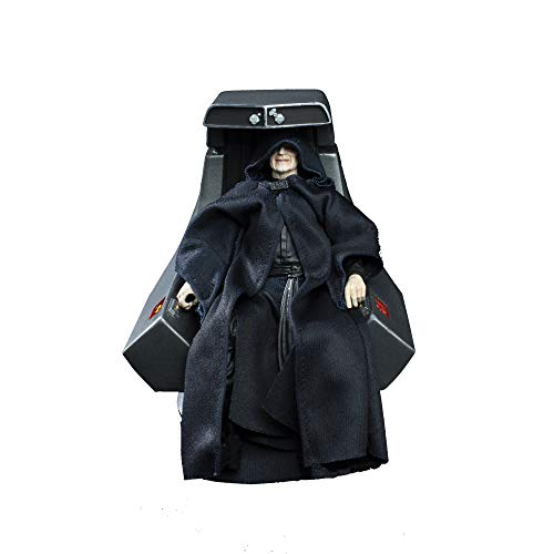 Star Wars The Black Series Emperor Palpatine Action Figure with Throne 6-Scale Return of The Jedi Collectible (Amazon Exclusive)