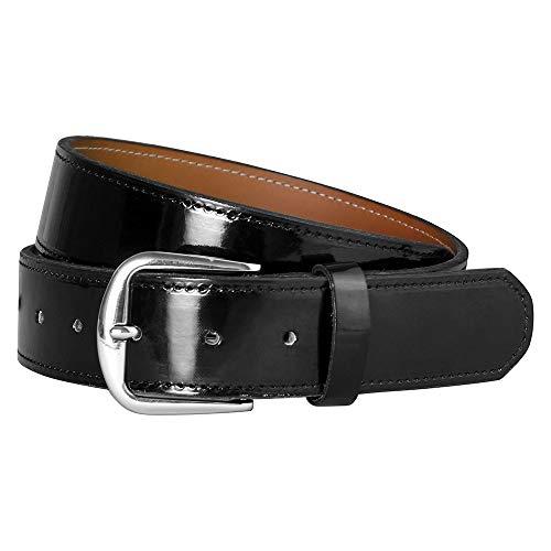 Champro Adult Patent Leather Baseball Belt Black L