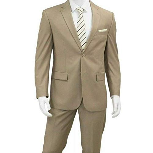 Classic Fit Suit New with Notch Lapels(52L/46W) ()