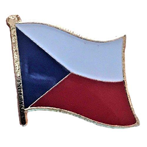 (Backwoods Barnaby Czech Republic Flag Pin (0.75