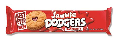Burton's Jammie Dodgers, 4.9 Ounce Packages (Pack of 12)