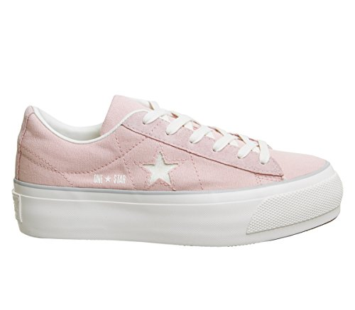 Converse One Star Platform OX Pink White Pesca