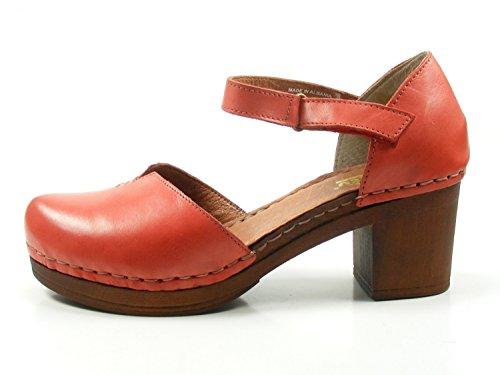 Manitu Damen Sandalette Rot