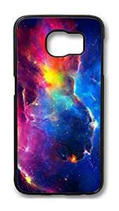 Brian114 Case, S6 Case, Samsung Galaxy S6 Case Cover, Gorgeous Galaxy Space 01 Retro Protective Hard PC Back Case for S6 ( Black )