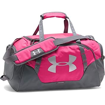 Under Armour Unisex 3.0 innegable Duffel Bag, color rosa tropical, pequeña