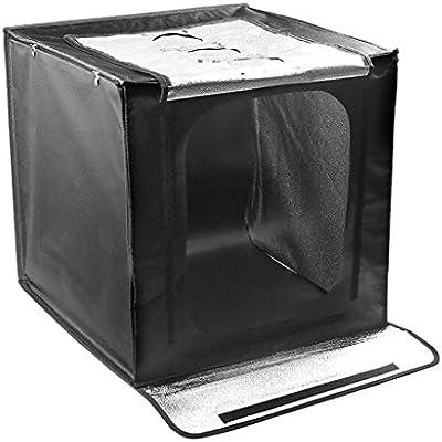 Light Boxes Gona Portable Photo Studio - 60 × 60 Cm Caja Fotográfica Juego De Iluminación para