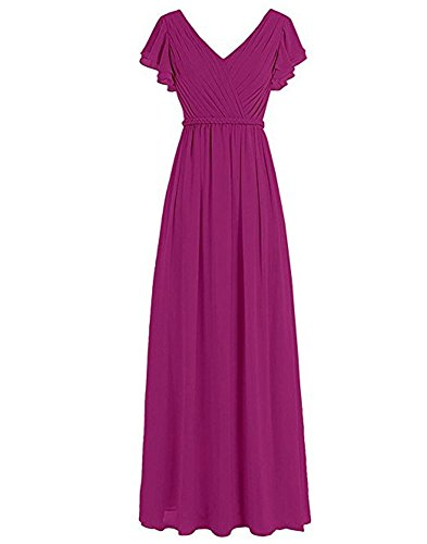 the Damen A Linie of Beauty Leader Fuchsia Kleid q5w6Rn