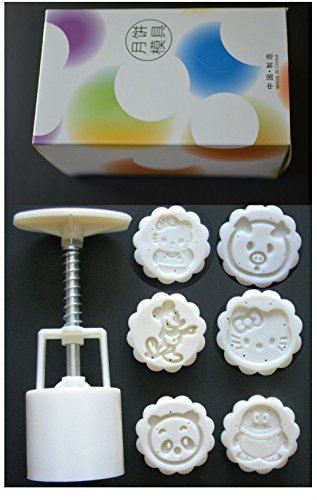moon cake mold hello kitty pig panda penguin mickey ()
