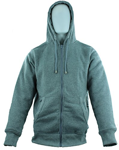 American Legend Outfittersb Fur Hoodie for Men - Grey - Size XXL