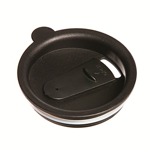 Travel Lid - Cypress 3LTMLID Replacement Spill Proof Lid, Black