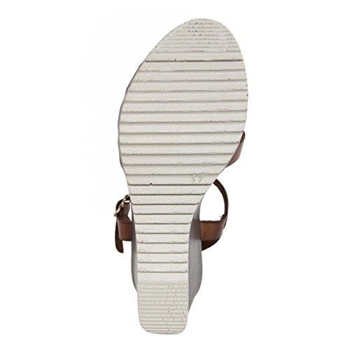 Chaussures compensées pour Femme CUMBIA 30132 ORO-NUEZ