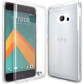 HTC 10 case,HTC 10 case cover Love Ying [Crystal Clear] Ultra[Slim Thin][Anti-Scratches]Flexible TPU Gel Rubber Soft Skin Silicone Protective Case Cover for HTC 10-Clear