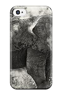 DVP-387mNjXwWNv Tpu Case Skin Protector For Iphone 4/4s Elephant With Nice Appearance
