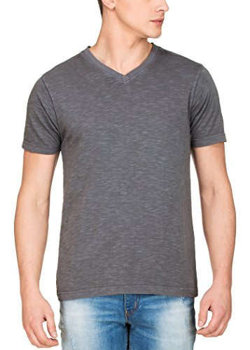 Zovi Anthracite Gray Garment Dyed V-ees(12050000201)