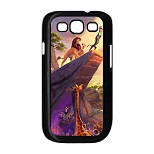 Painted Lion back phone Case cover Samsung galaxy S3 I9300 by mcsharks