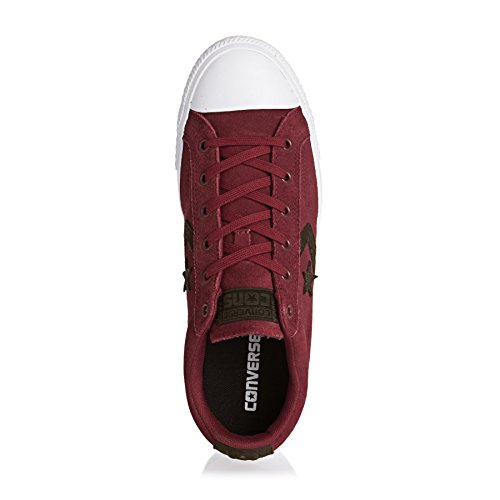 Converse Trainers - Converse Cons Lifestyle - Red Block/hot Cocoa/white