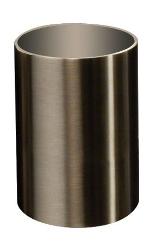 American Metalcraft SSPH2 Stainless Steel Cylinder Sugar Cube Holder, 2'' Diameter, Satin Finish by American Metalcraft