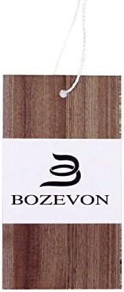 50pcs BOZEVON Vis Anti Corrosion M4 Vis /à T/ête Plate Phillips Vis /à T/ête Frais/ée en Acier Inoxydable 304,M4*22