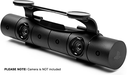 Privacy Shield for Playstation 4 Camera v2.0 by Foamy Lizard PS4 Camera v2.0 Protective Concealing Camera Lens Cover for 2016 PS4 Console Camera Sensor (NOT compatible with OLD rectangular camera) from Foamy Lizard