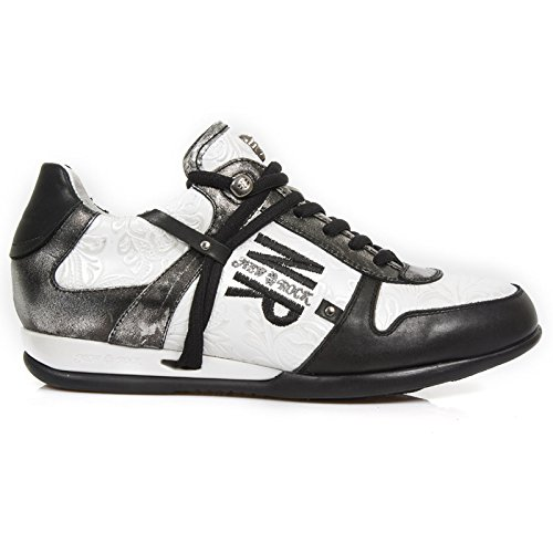 New Rock M Hy001 S4, Sneaker Uomo Nero (Noir (Raw Negro/Vintage Flower Blanco))
