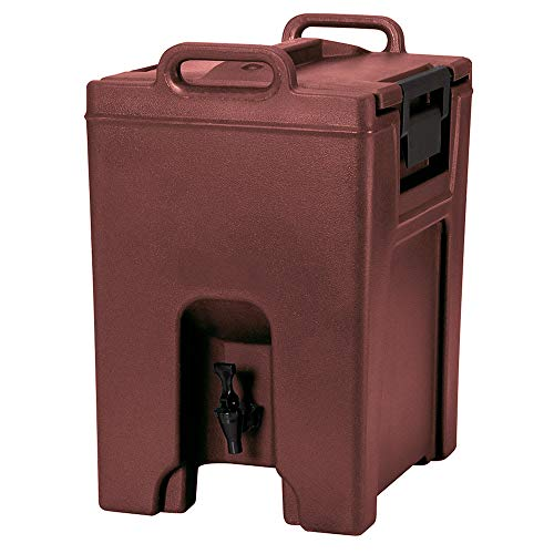 - Cambro UC1000402 10-1/2-gal Ultra Camtainer Beverage Carrier - Insulated, Brick Red